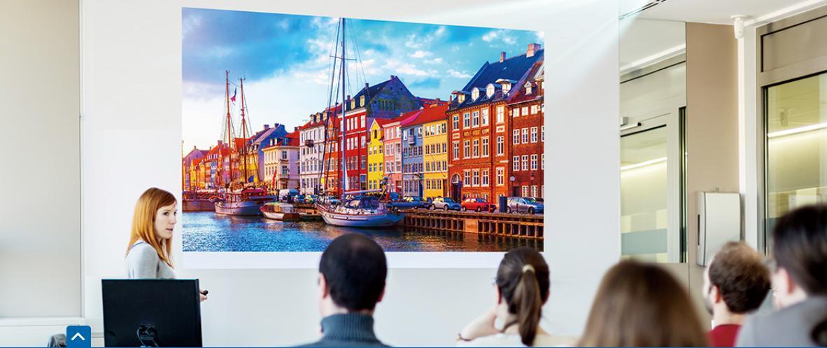 Máy chiếu Panasonic PT-LW375 cho Hình ảnh sắc nét chân thực